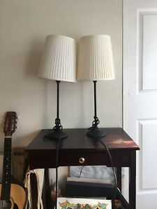 2 NEW stylish Table Lamps (sold separately or together)