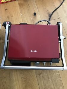 Breville Indoor BBQ and Grill, Panini Press, Skillet