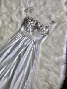 Special Occasions Dress -White Maxi dress