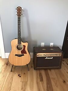 Taylor 310ce Acoustic Electric Guitar & Marshall As50d amp