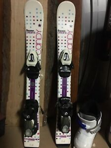 Solomon origins jr ski with boots