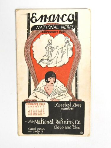 VINTAGE 1924 EN-AR-CO NATIONAL NEWS NATIONAL REFINING COMPANY BOOKLET