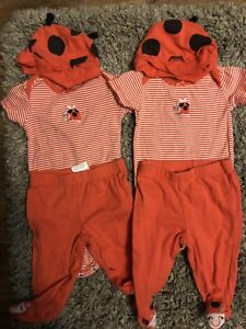 Twin girls 3 month clothing lot