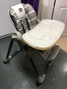 Chicco High Chair-Reclining + Adjustable Height