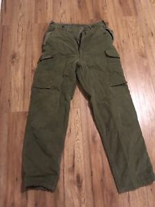 Canadian Forces vintage winter weight pants