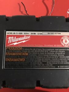 Milwaukee XC batteries