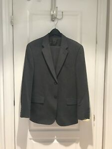 CHAPS RALPH LAUREN MEN'S SUITS IN 38R BLACK/GREY