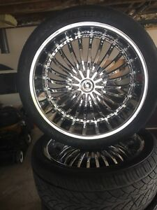305/35/R24 rims and tires
