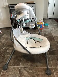 Fisher-Price Cradle 'n Swing My Little Lamb Platinum Edition