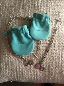 Tiffany & Co necklace and bracelet