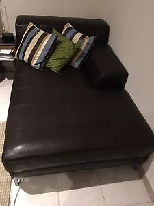 Leather Chaise Lounge Bonnyrigg Heights Fairfield Area Preview