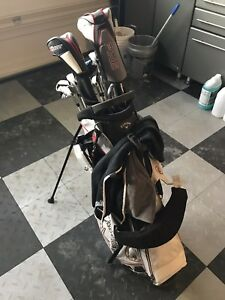 **REDUCED** Callaway X-Hot golf clubs w/bag and accessories