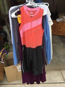 Women's XL triathlon race suits
