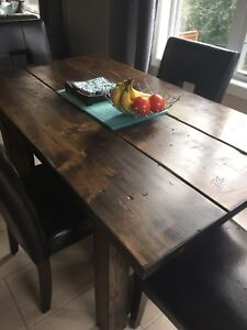 3x5 New reclaimed wood table