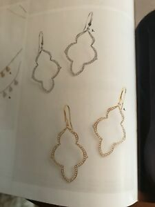 WANTED - Stella and Dot Arabesque gold earrings