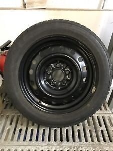 UNIROYAL TIGER-PAW WINTERS 205-55-16 ON STEEL RIMS (5x114.3)