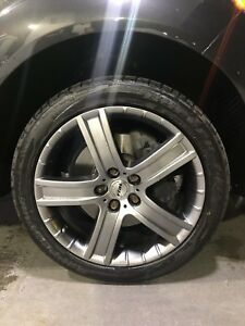 """20"""" RIAL MAGS 5X130 AUDI Q7 CAYENNE TOUAREG WITH TIRES"""