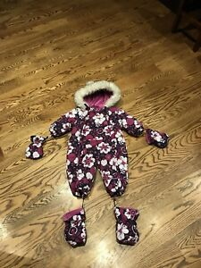 Gusti 9mth snow suit