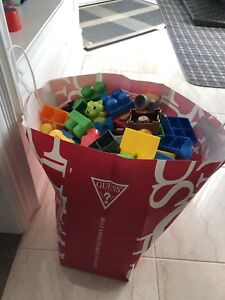 Full bag of Megablock including 4 sets