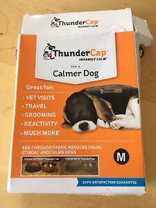 Dogs Thunder shirt calming cap