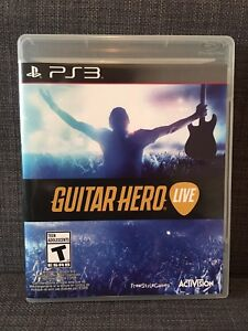 Guitar Hero Live game for PS3