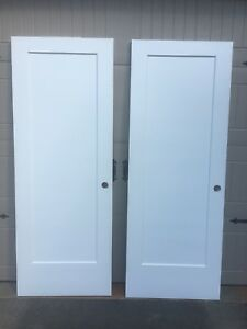 Interior doors -solid core