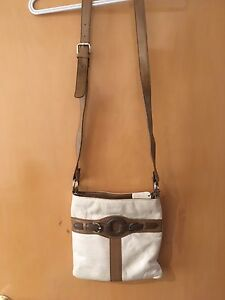 Genuine Leather Cross Body Purse