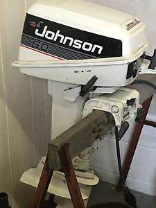 6.0HP Johnson Motor