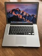 MacBook Pro 15 (Mid 2012) West Ryde Ryde Area Preview