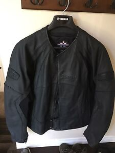 Icon stealth leather jacket