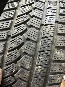 235/55/17 winter tires one rims Chevy 5 bolt