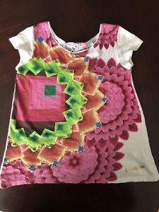 Deux t-shirt Desigual pour fillettes 7/8