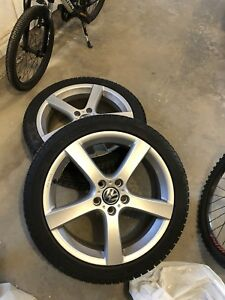 Rims and winter tires for VW Golf