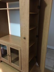 Tall TV Stand / Shelving Unit