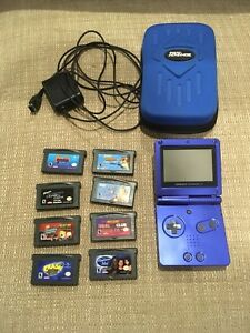 Gameboy Advance SP with extras