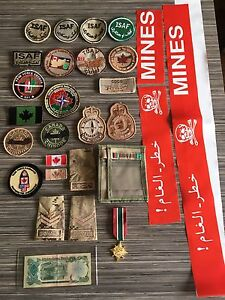 Very rare Canadian Afghanistan collection