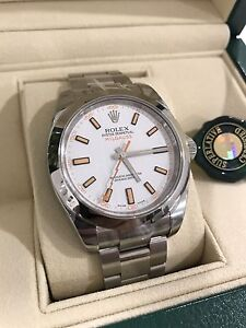 Rolex Milgauss white dial Norwood Norwood Area Preview