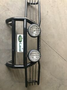 Land Rover metal grill