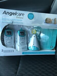 Angelcare deluxe movement and sound monitor