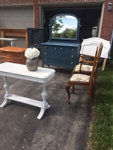 Beautiful and unique refinished antiques