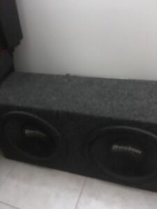 """Boston Competitor 2 x 10"""" subs and kicker kx350.4 amp"""