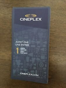 Cineplex tickets $10 each FIRM Great Christmas gift