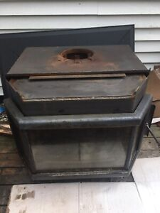 Osburn Gas Wood Hearth System Woodstove Fireplace