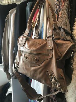 Witchery Leather Handbag