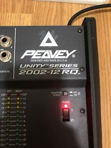 Peavey stereo console