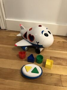 Toddler toy: airplane shape sorter