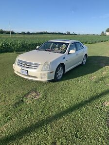 2005 Cadillac STS 4.6 pearl white