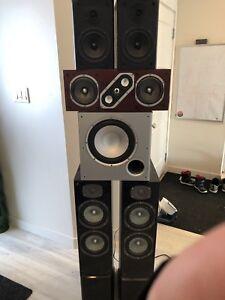 5.1 Surround speaker set