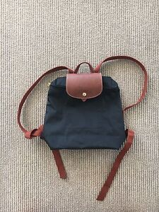 Longchamp Le Pliage Backpack, Black RRP$149 Spring Hill Brisbane North East Preview