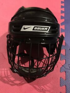 Nike Bauer helmet and cage size medium.